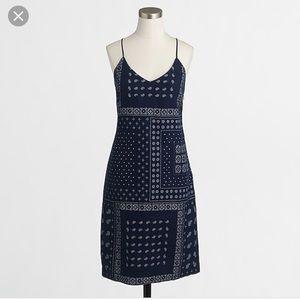 J. Crew Bandana Tank Dress. Size: 00